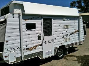 Creative Mining Exploration Caravan Hire Perth  Fiesta Caravan Hire